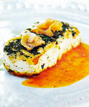 Easy Asian Halibut Saute