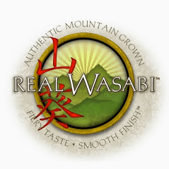 Logo for Real Wasabi, LLC, worldwide purveyors of authentic wasabi products.