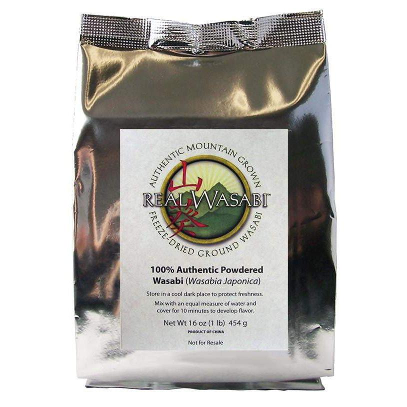 Real Wasabi Powder - Bulk One Pound Bag