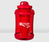 Red 1/2 Gallon Kooler Sport with Shaker Cup