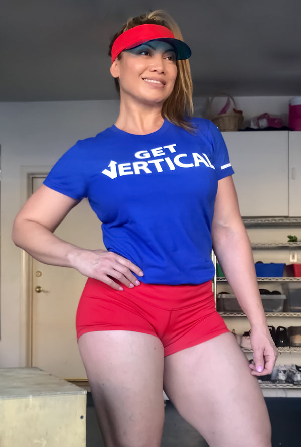 "Women's ""Get Vertical"" T-Shirt"
