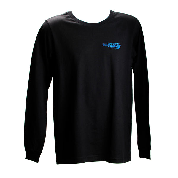 Shed Tee - Blockprint Logo Long-Sleeved