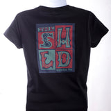Shed Tee - Blockprint Logo - Womens