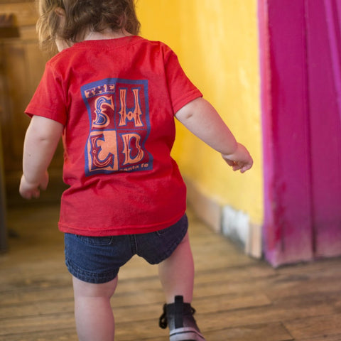 Red Kids Shirt
