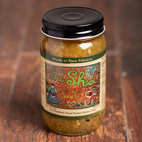 New Mexico Jarred Green Chile Santa Fe