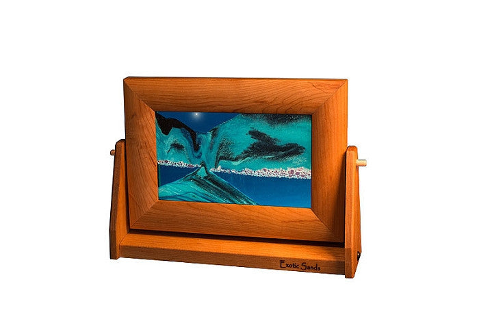Exotic Sands Small Cherry Ocean Blue Sand Art