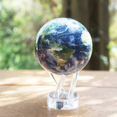 Earth with Clouds MOVA Globe