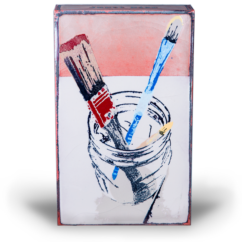 "Houston Llew Brush Enamel ""Spiritile"""