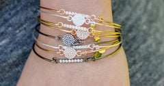 Stia Pave Icon Bracelets with Cubic Zirconias