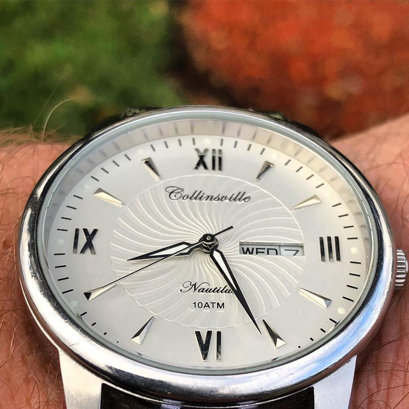 Collinsville Watch Company Men's Nautilus in White
