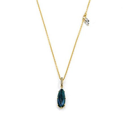 Mari Labradorite Asymmetrical Necklace