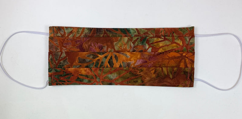 Fall leaves batik