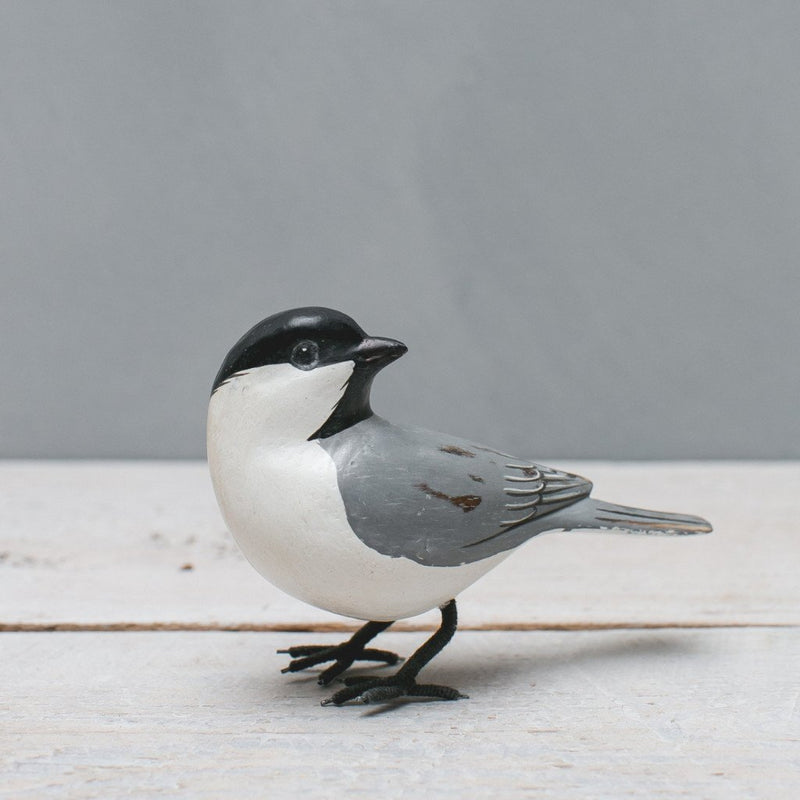 Hand Painted Wood Mini Chickadee