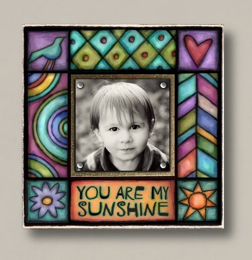Spooner Creek Small You Are My Sunshine Picture Frame