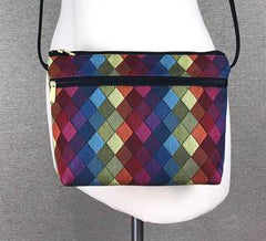 Danny K. Zipper Handbag in Jewel Pattern
