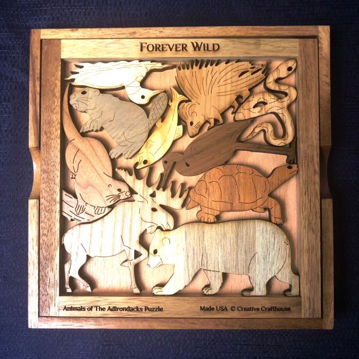 Animals of the Adirondacks Picture Frame Puzzle
