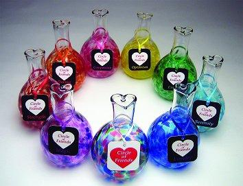 Henrietta Glass circle of friends vases