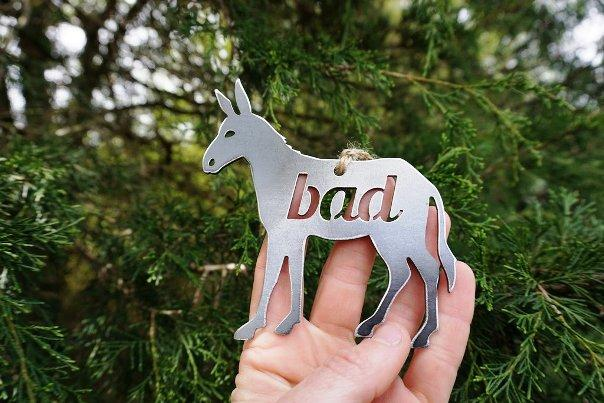 BE Creations Steel Bad Ass Ornament