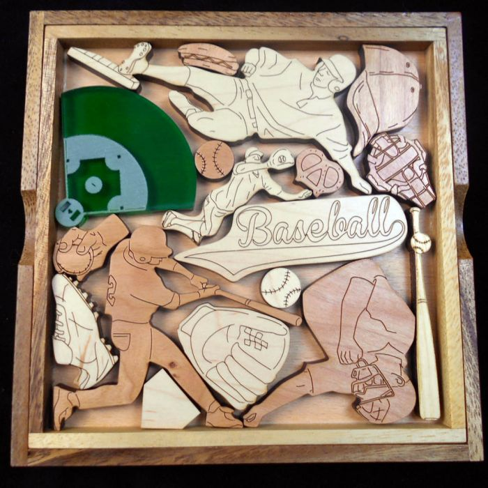 Creative Crafthouse Baseball Fanatic Picture Frame Puzzle