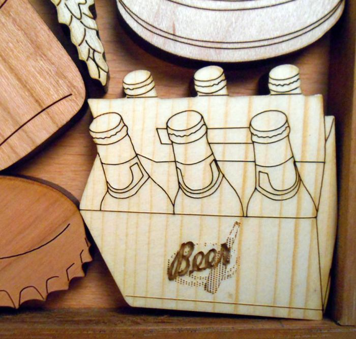 Creative Crafthouse Beer Bash Wood Picture Frame Puzzle