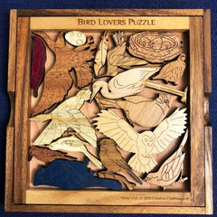 Creative Crafthouse Bird Lovers Picture Frame Puzzle