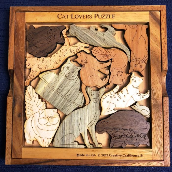 Creative Crafthouse Cat Lovers Picture Frame Puzzle