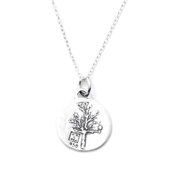 Kevin n' Anna Tree of Life Small Quotes Necklace