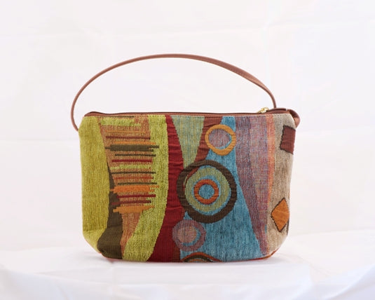 Danny K. Zipper Handbag in Wild Mango Pattern
