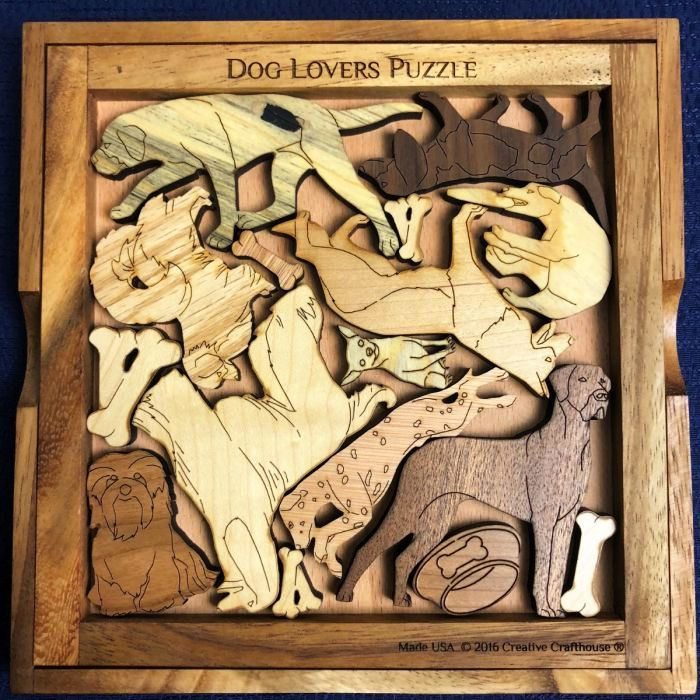 Creative Crafthouse Dog Lovers Picture Frame Puzzle