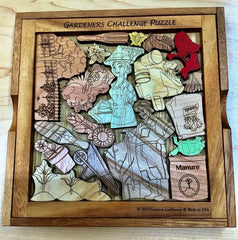 Creative Crafthouse Gardeners Challenge Wood Picture Frame Puzzle