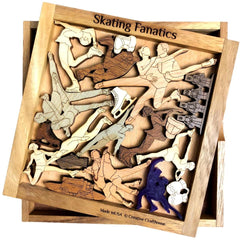 Skating Fanatics - Figure Skating and Ice Dancing Puzzle