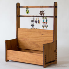 Hannah's Ideas in Wood Jewelry Bench Box