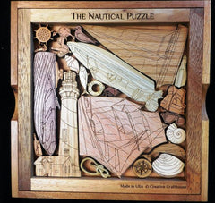 Creative Crafthouse Wood Nautical Picture Frame Puzzle