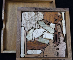 Creative Crafthouse Nurse Wood Picture Frame Puzzle