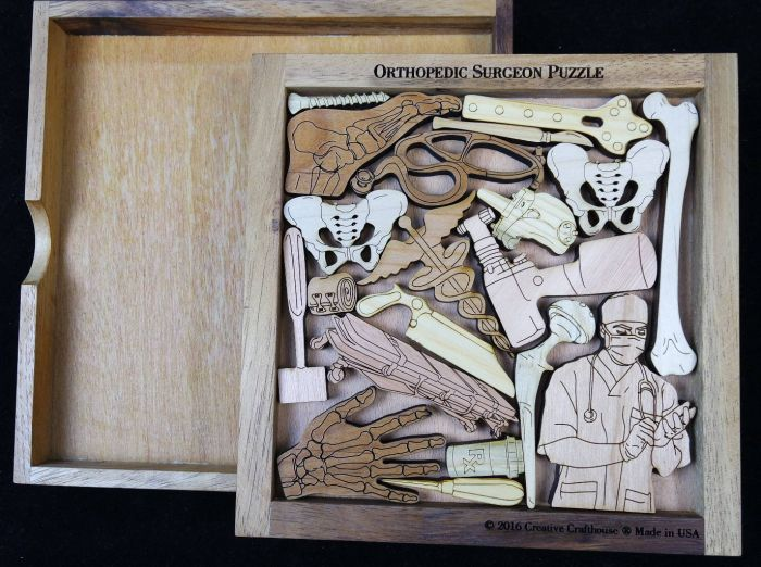 Creative Crafthouse Orthopedic Surgeon Picture Frame Puzzle