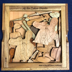 Creative Crafthouse Salon Wood Picture Frame Puzzle