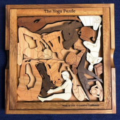 Creative Crafthouse Yoga Picture Frame Puzzle