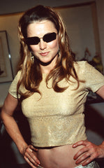 Lucy Lawless at 2005 Saturn Awards wearing M.2. Matrix Sunglasses