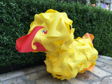 Cartoon Duck Frank shape Puzzle Lamp Shade 3D Puzzle IQ lights