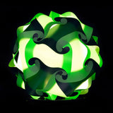 Mixed Kit Green / Forest Green  Puzzle Lamp 3D Puzzle IQ lights