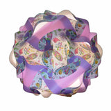 Printed Kit Dragon fly  / Lavender  Puzzle Lamp 3D Puzzle IQ lights