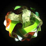 Printed Kit Cannabis / Green / Forest Green  Puzzle Lamp 3D IQ lights