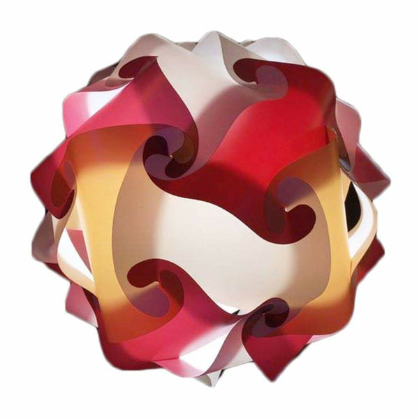 Mixed Kit Maroon / Tan / White  Puzzle Lamp 3D Puzzle IQ lights