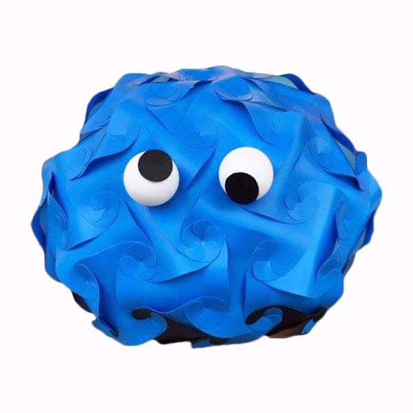 Cartoon Cookie Monster  Puzzle light 3D IQ Lamps