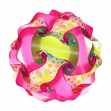 Printed Kit Butterfly / Pink / Green  Puzzle Lamp 3D IQ lights