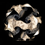 Printed Kit Art Deco / Black  Puzzle Lamp