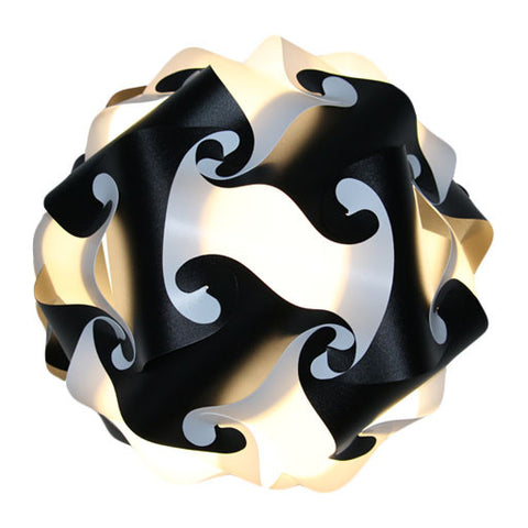 Mixed Kit Black / White  Puzzle Lamp 3D IQ lights