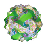 Printed Kit Butterfly / Green  Puzzle Lamp 3D IQ lights