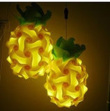 Cartoon Pineapple Puzzle Lights IQ 3D Lamp