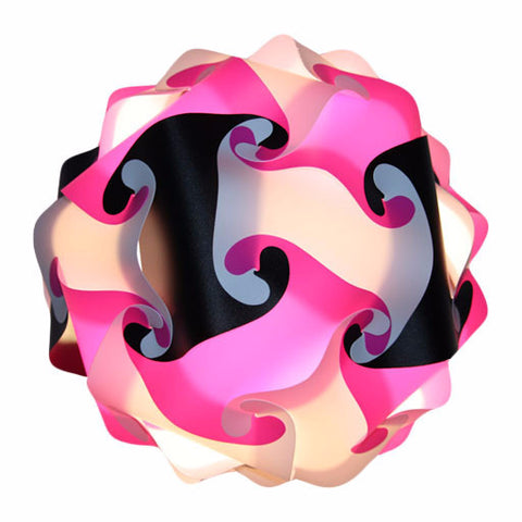 Mixed Kit Pink / Black / White  Puzzle Lamp 3D Puzzle IQ lights